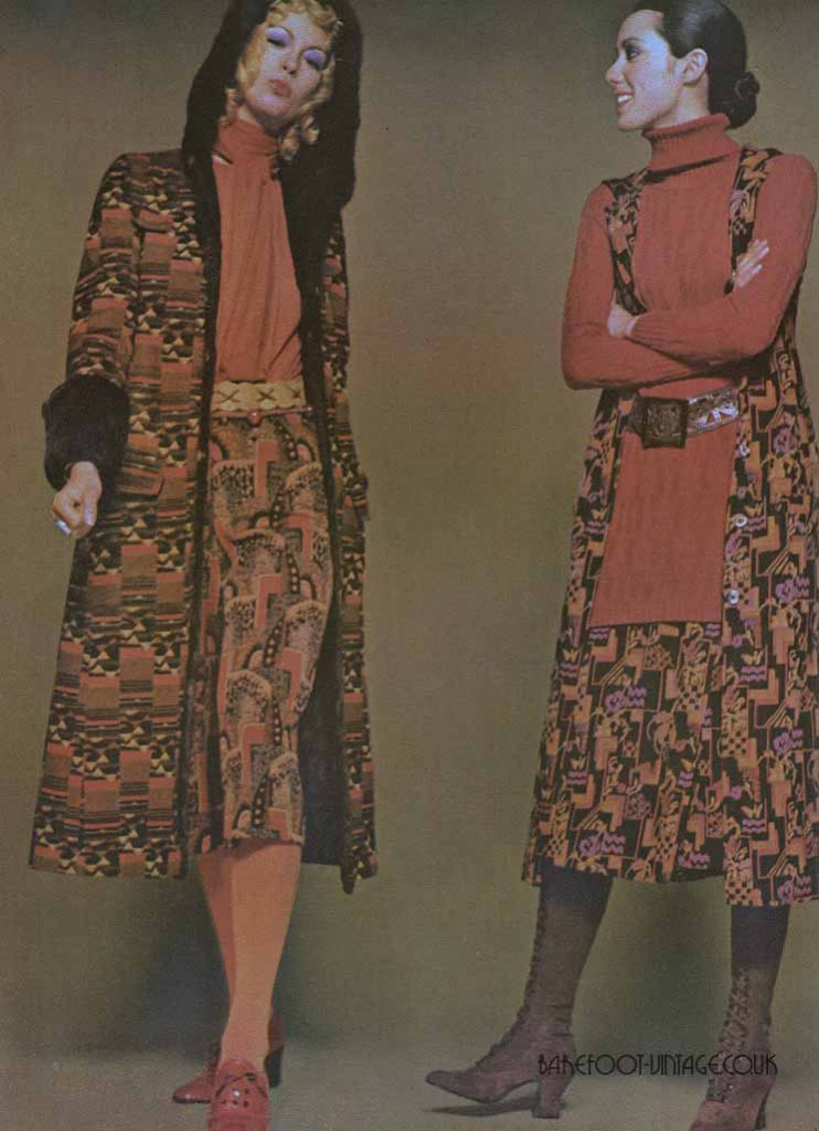 Vintage Editorials: Cinnamon Looks. Scanned from Vogue Magazine August 1970 by Miss Booty Barefoot. Vintage Fashion researched and displayed in all it's glory!