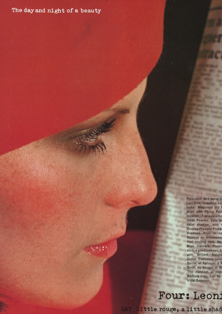 Vintage Editorials: Curl and Chiffon…Scanned from Beauty in VOGUE Autumn Winter 1975 by Miss Booty Barefoot. Vintage Fashion visibly explored in all it's glory!