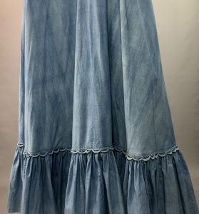 Blue Tiered Maxi