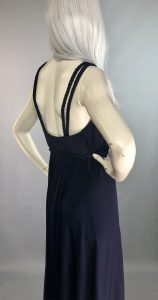 Vintage Navy Wrap Dress