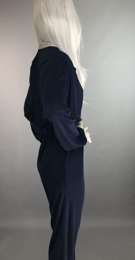 Anne Tyrrell Oxford Blue Jumpsuit