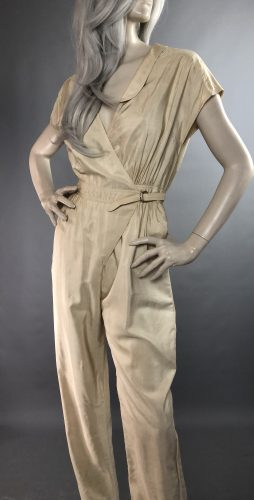 Anne Tyrrell Silk Jumpsuit