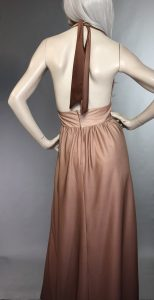 Courtaulds Plunging Gown