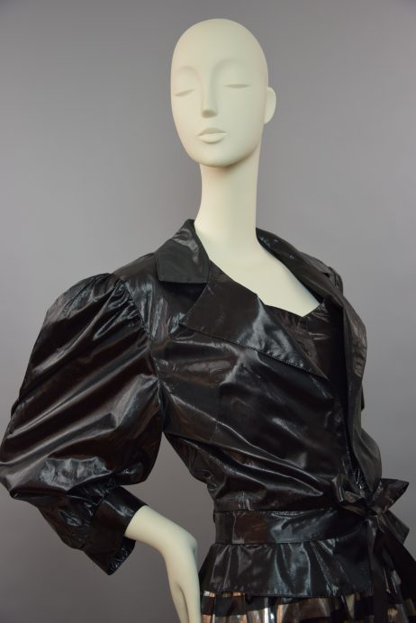 John Marks by Anne Tyrrell Black Silver 'See me' Dress & Jacket